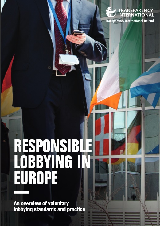 TI Ireland's Responsible Lobbying in Europe Report