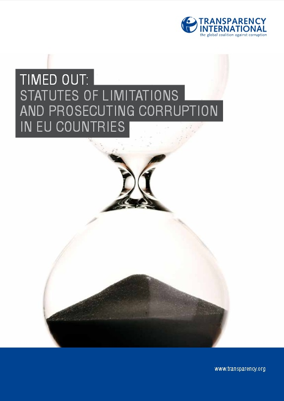 TI Timed Out - Statutes of Limitations and the Prosecution of Corruption in the EU