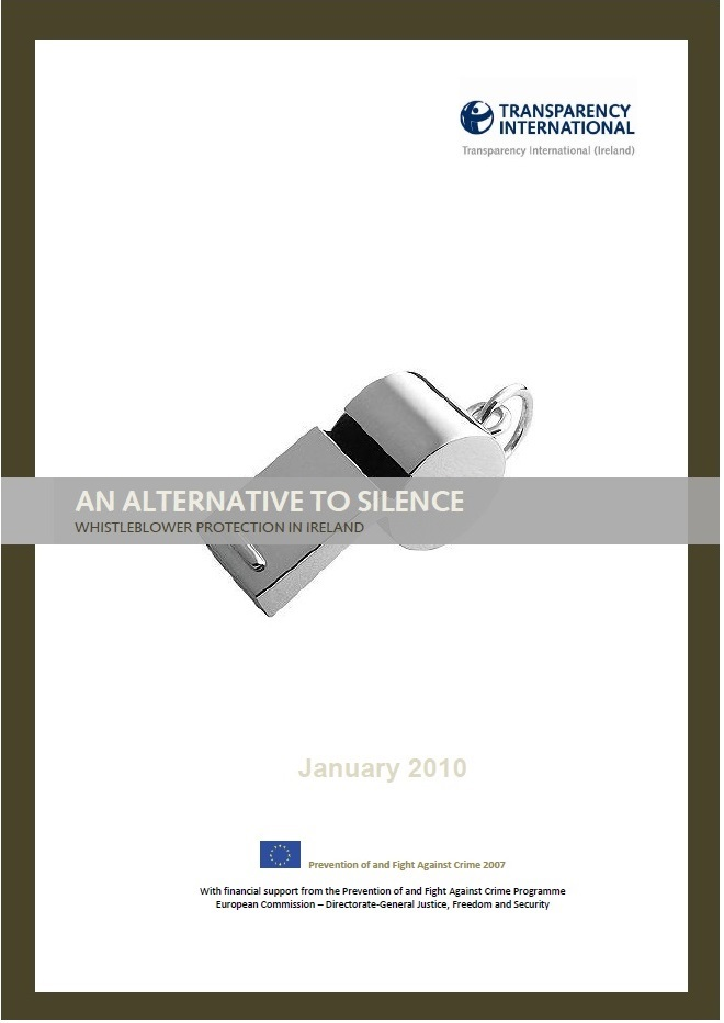 TI Ireland's Alternative to Silence report