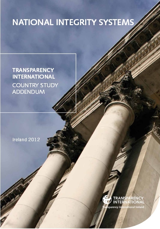 TI Ireland 2012 Addendum to the NIS study
