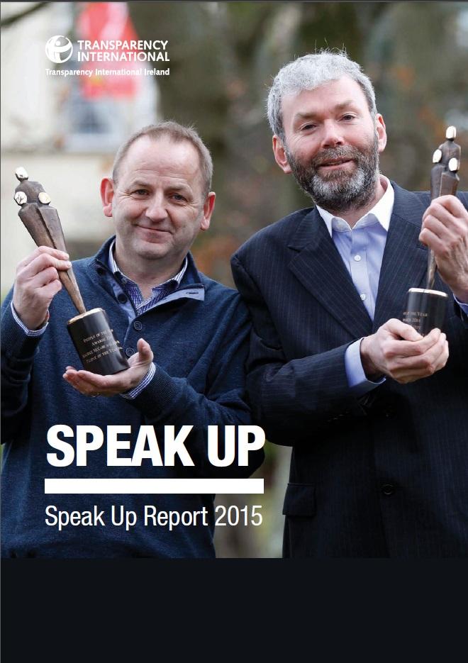 TI Ireland's Speak Up Report 2015
